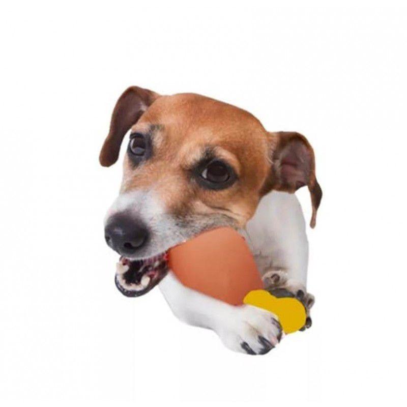 Brinquedo Coxa De Frango Com Barulho Brinquedo Pet Para Cão