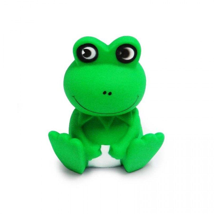 Brinquedo  Sapinho Verde