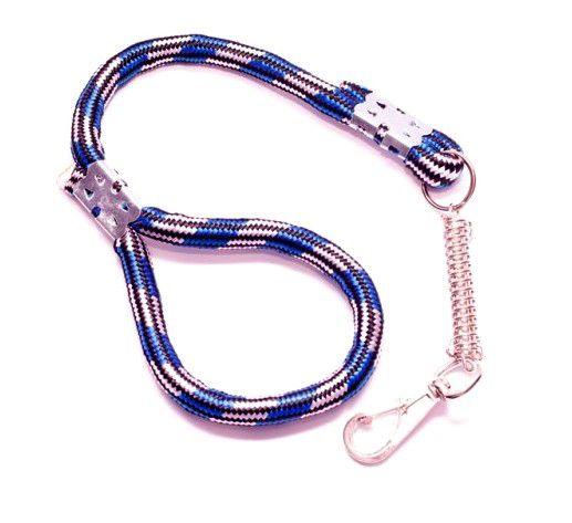 Guia de corda para cachorro com amortecedor