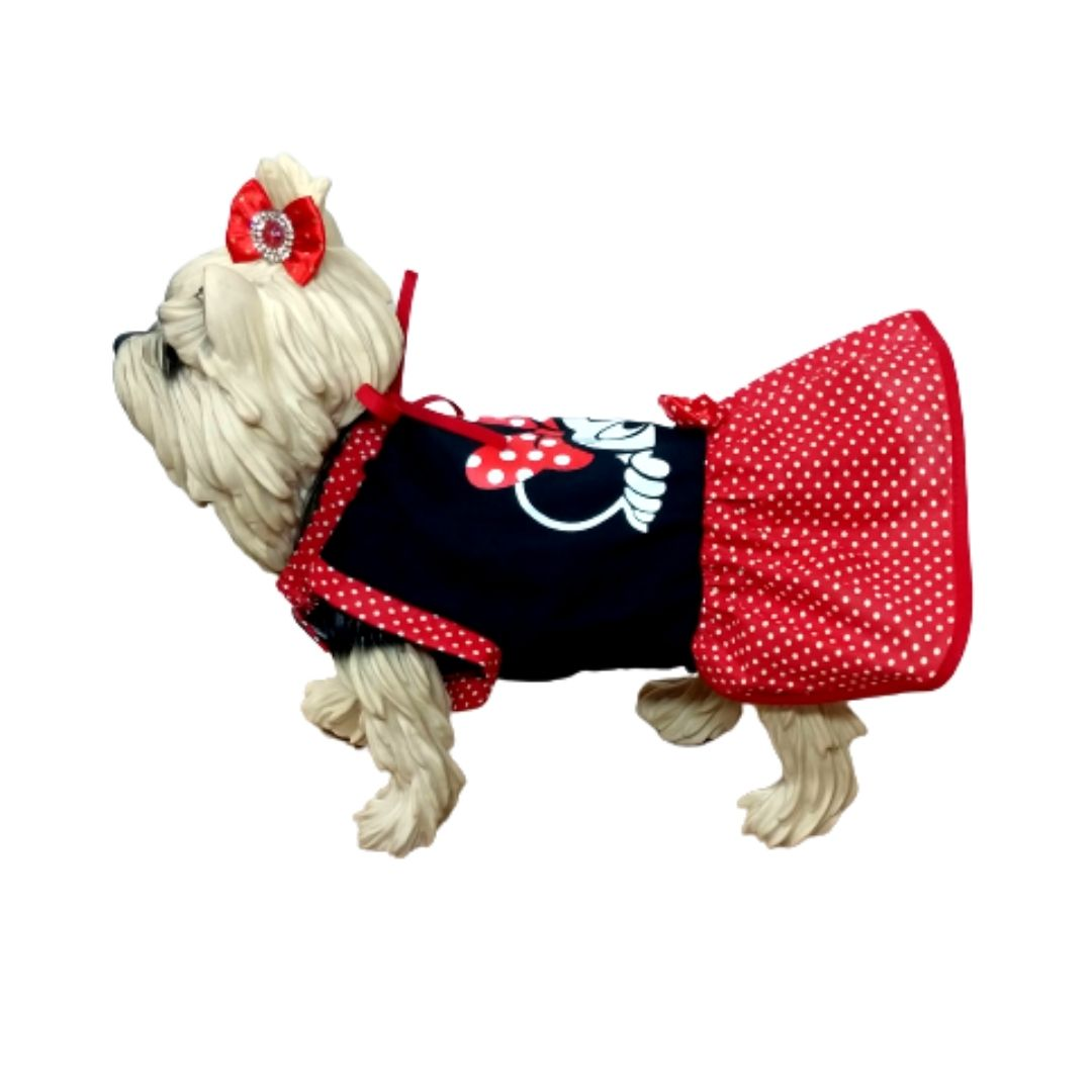 Vestido para cachorro - Minnie