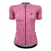 Camisa Marcio May Feminina Funny Premium Rosa Estampado