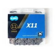 Corrente Kmc X11 11v 118 Elos Pta/Pt