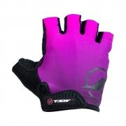 Luva Tsw Dm Flex Dedo Curto Preto/Pink