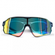 Oculos Rockbros Ciclismo  Marinho E Preto