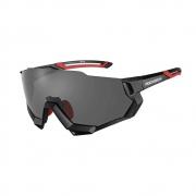 Óculos De Ciclismo Rockbros  Polarizado Preto E Vermelho 5 Lentes