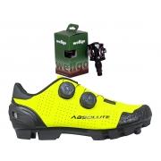 Sapatilha Absolute Prime Mtb + Pedal Wellgo M919