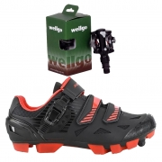 Sapatilha Absolute Wild Mtb + Pedal Wellgo M919