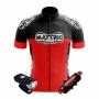 Kit Farol Raypal + Sinalizador TSW+Camisa de Ciclismo Mattric