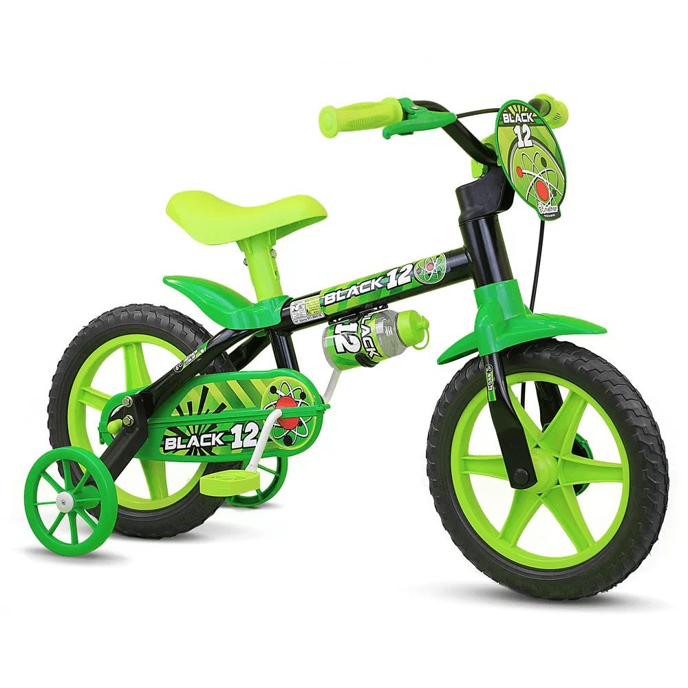 Bicicleta Nathor Black Aro 12