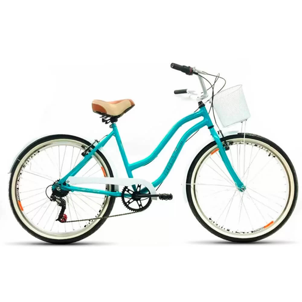 Bicicleta Route Bike Feminina 7v Aro 26