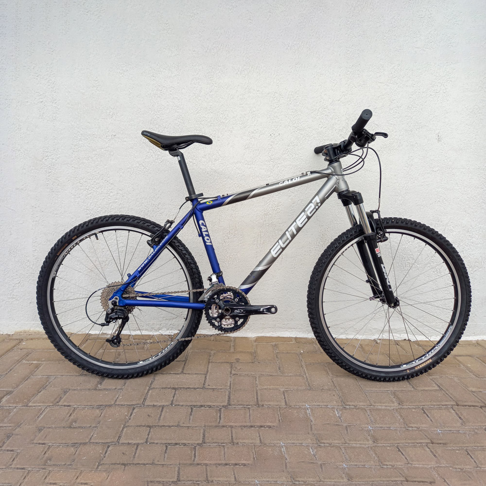 Bicicleta Semi Nova Caloi Elite 27v Aro 29