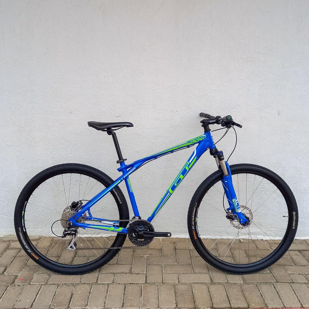Bicicleta Semi Nova GT Timberline 24v Aro 29