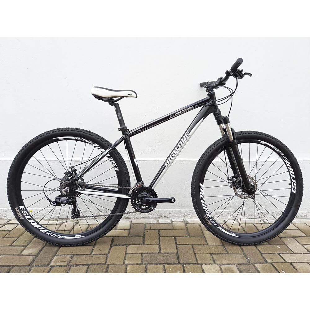 Bicicleta Semi Nova High One 21v Aro 29 PT