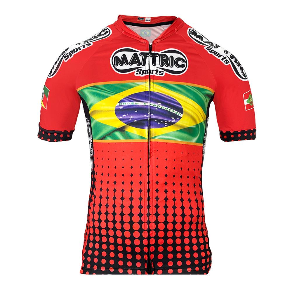 Camisa de Ciclismo Mattric Brasil