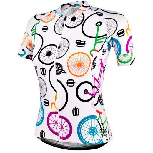 Camisa Marcio May Feminina Funny Colorful Branco