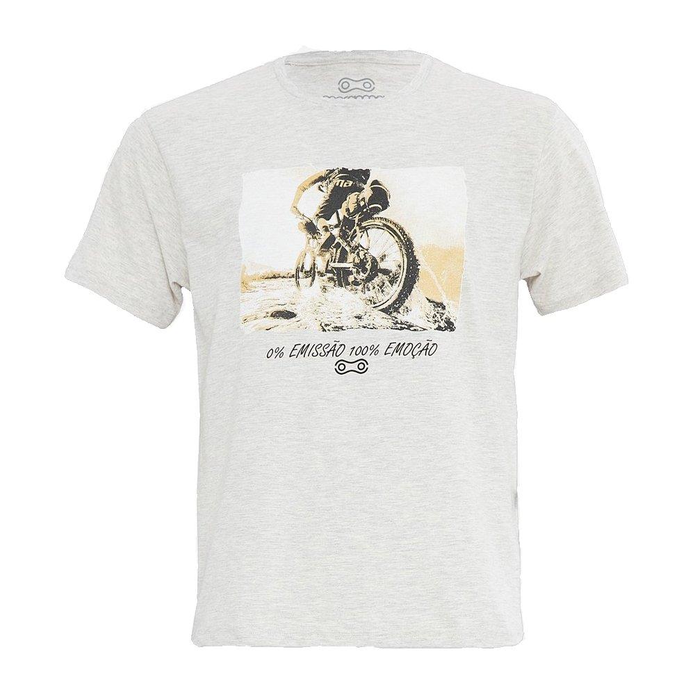 Camiseta Marcio May Masc 100% Emocao Msc