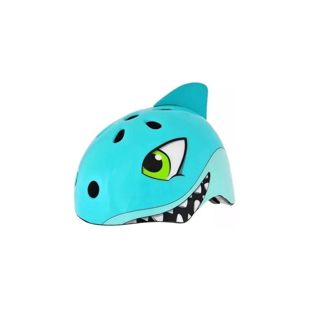Capacete Kidzamo Infantil Tubarão