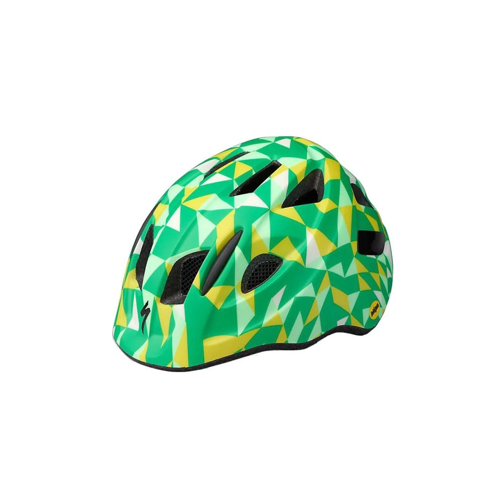 Capacete Specialized Infantil Mio Mips Verde E Amarelo