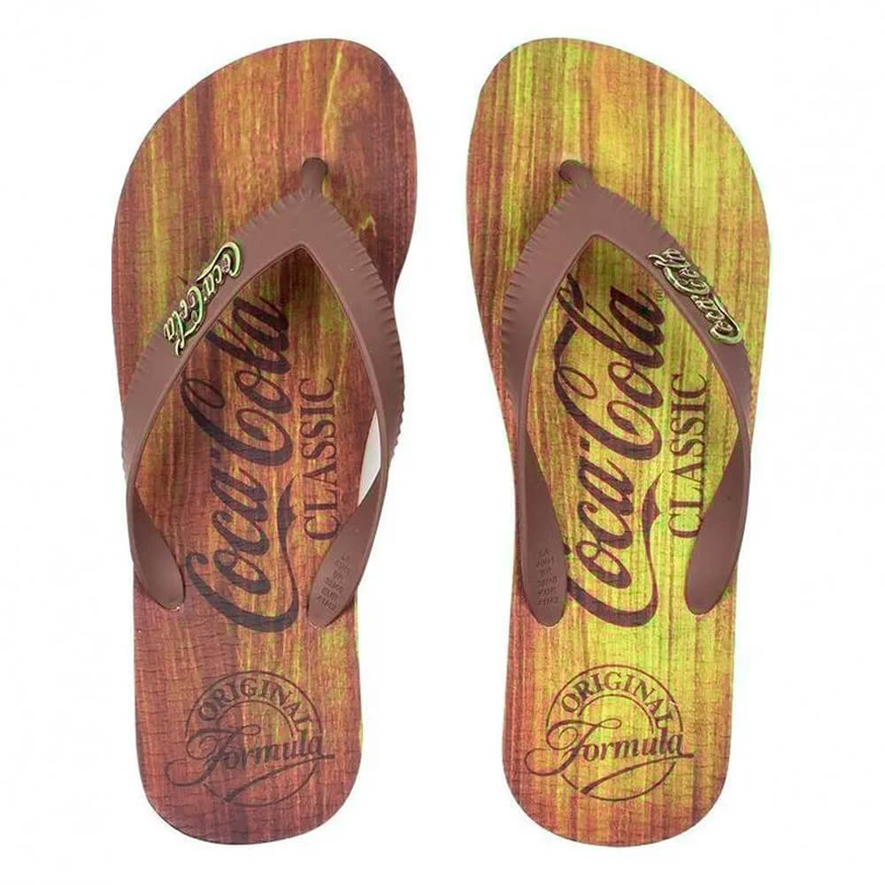 Chinelo Coca Cola Mac Ref Cc3036 Bg/Mrr