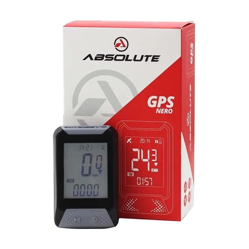 Ciclocomputador GPS Absolute Nero