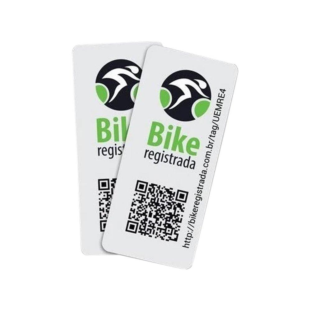 Selo Bike Registrada Seguranca Ref 0001