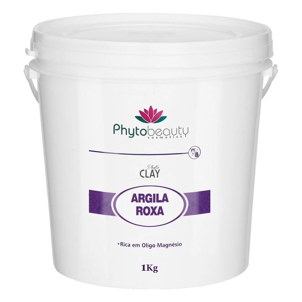 ARGILA ROXA PHYTO CLAY - 1KG