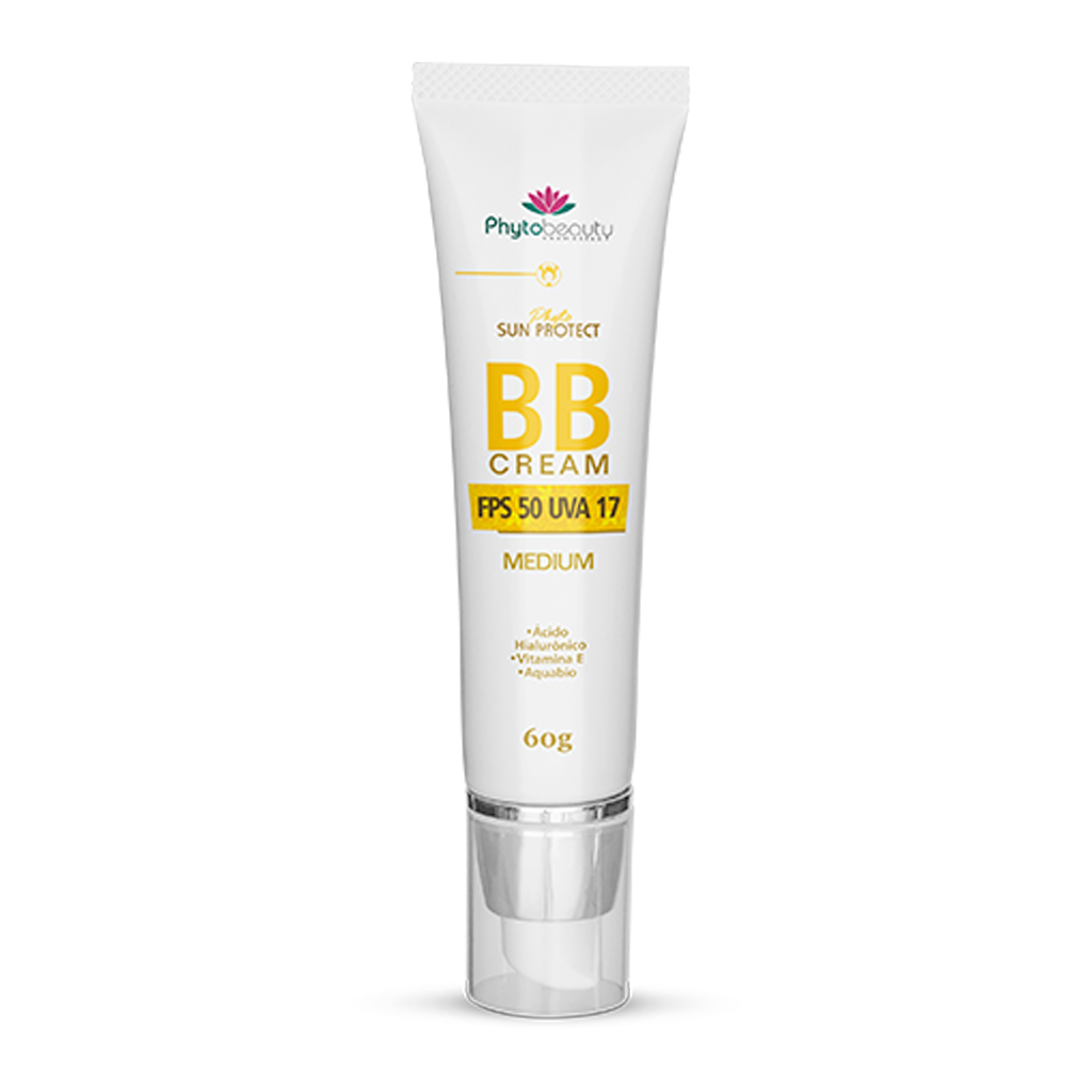 BB CREAM MEDIUM PHYTO SUN PROTECT - 60G