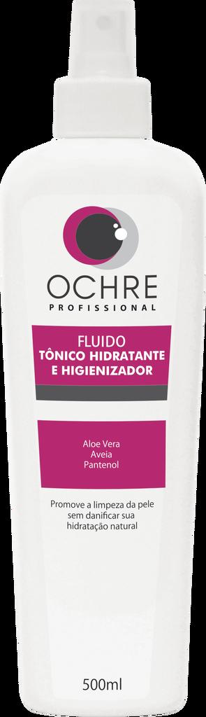 FLUIDO TÔNICO HIDRATANTE E HIGIENIZADOR OCHRE - 500ML