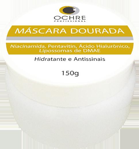 MÁSCARA DOURADA OCHRE - 150G