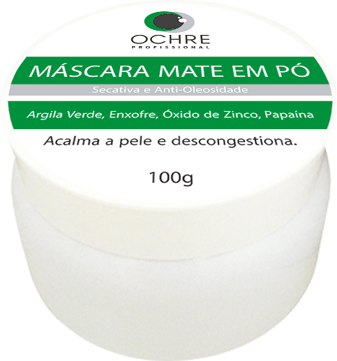MÁSCARA MATTE EM PÓ OCHRE - 130G