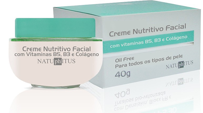 OIL FREE - CREME NUTRITIVO NATUPHITUS 40G