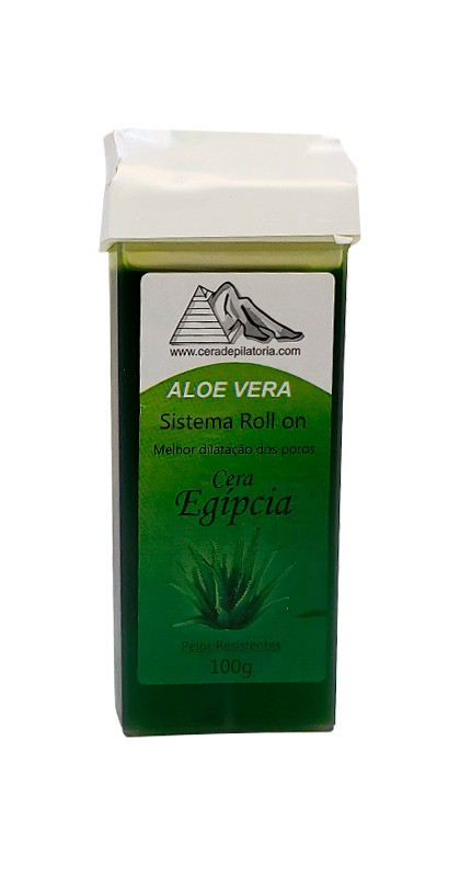 REFIL ROLL ON ALOE VERA CERA EGIPCIA - 100GR