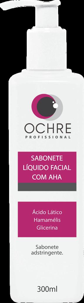 SABONETE LÍQUIDO FACIAL COM AHA OCHRE - 300ML