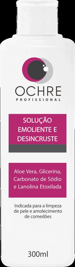SOLUÇÃO EMOLIENTE E DESINCRUSTE OCHRE - 300ML