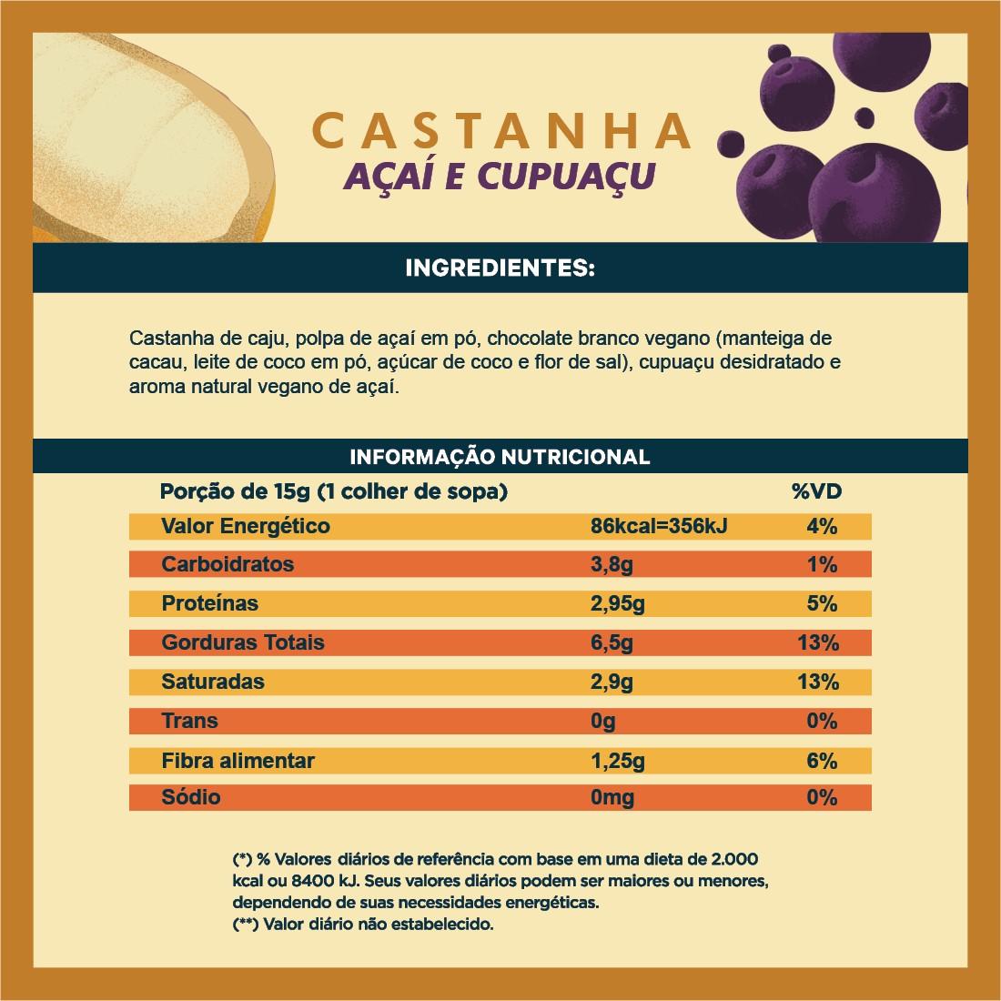Pasta Amazônia 210 gr