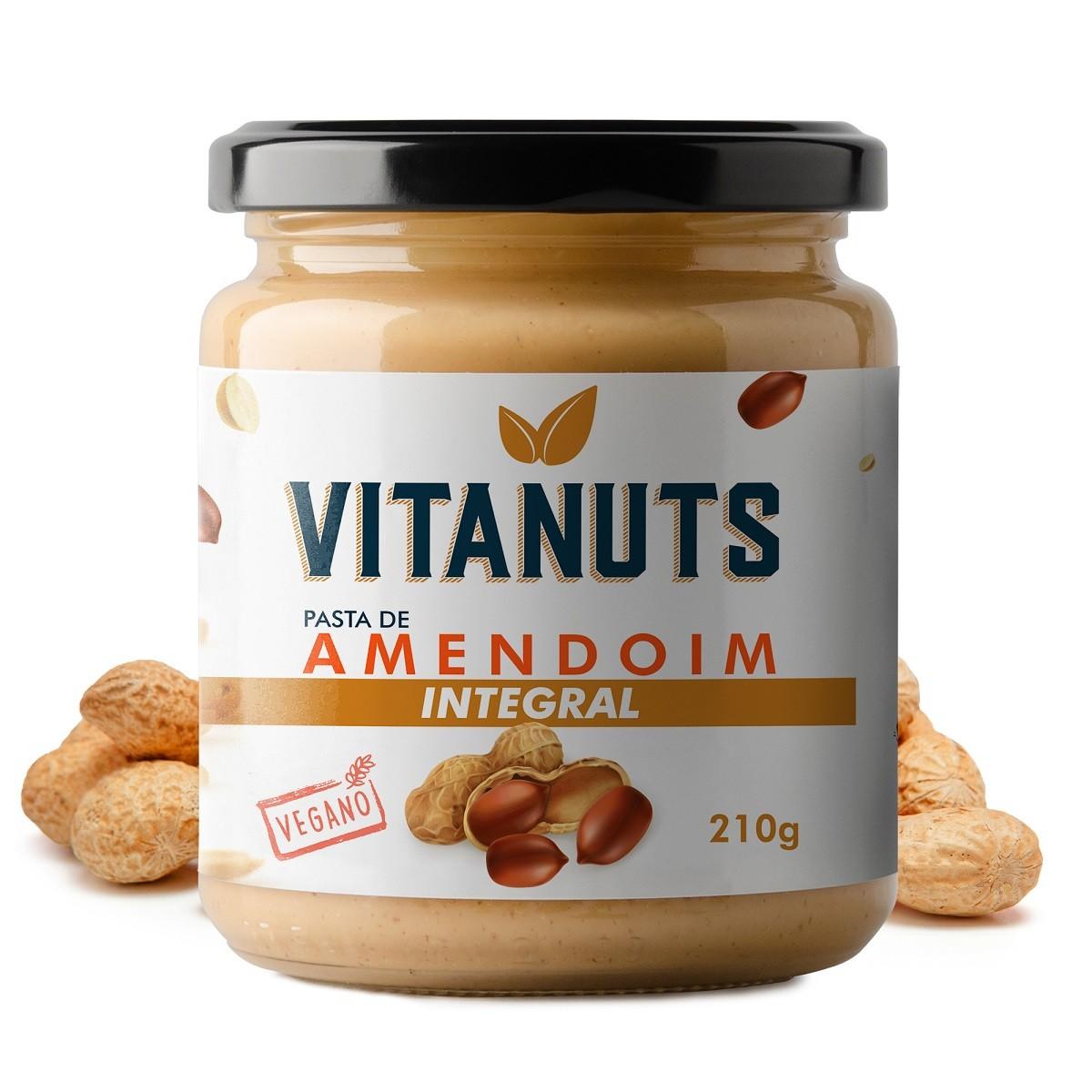 Pasta de Amendoim Integral (210g)