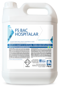 FLOTADOR F5 BAC HOSPITALAR - LIMPADOR E DESINFETANTE - 5 Litros - Perol