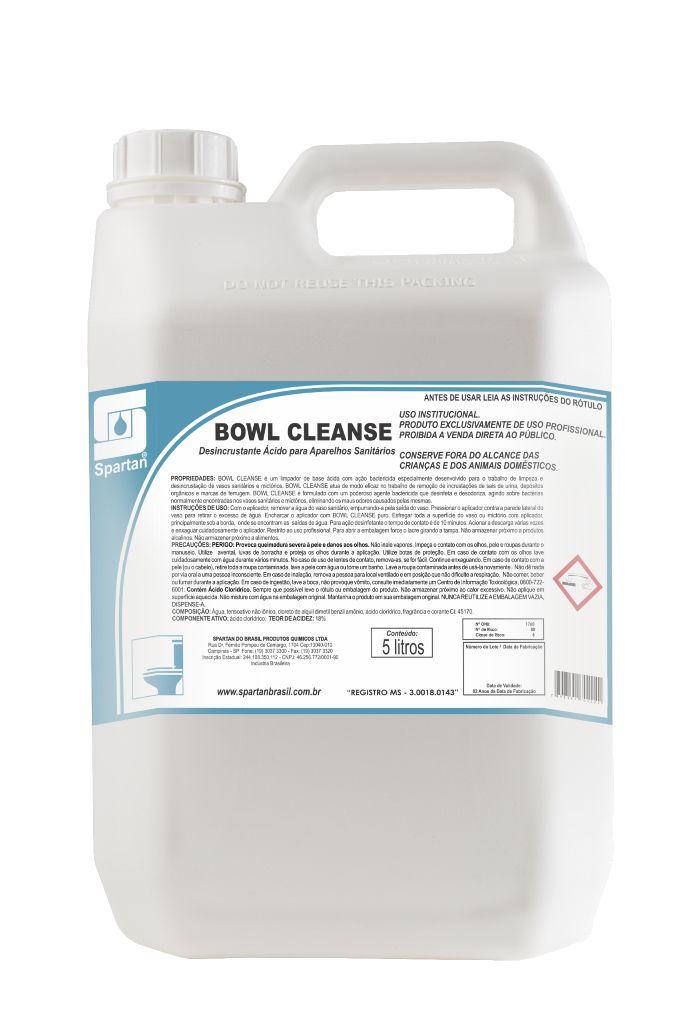 BOWL CLEANSE - 5 Litros - Spartan