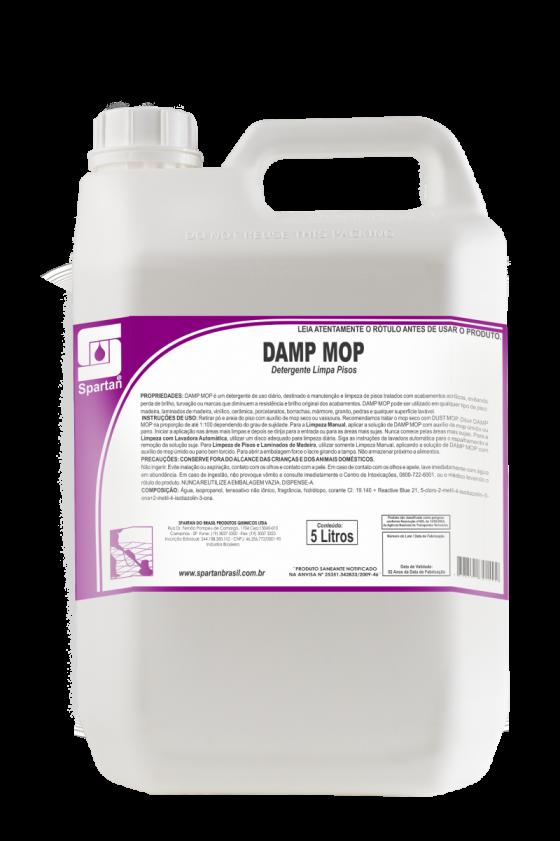 DAMP MOP  - DETERGENTE DE USO DIÁRIO - 5 Litros - Spartan