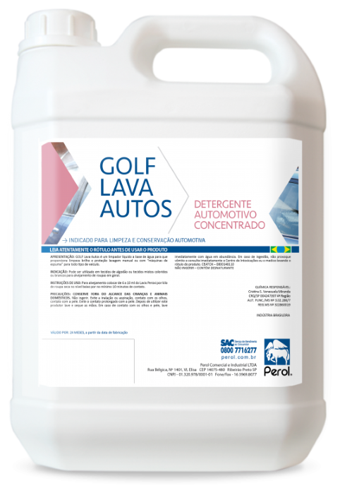 GOLF LAVA AUTOS - 5 Litros - Perol