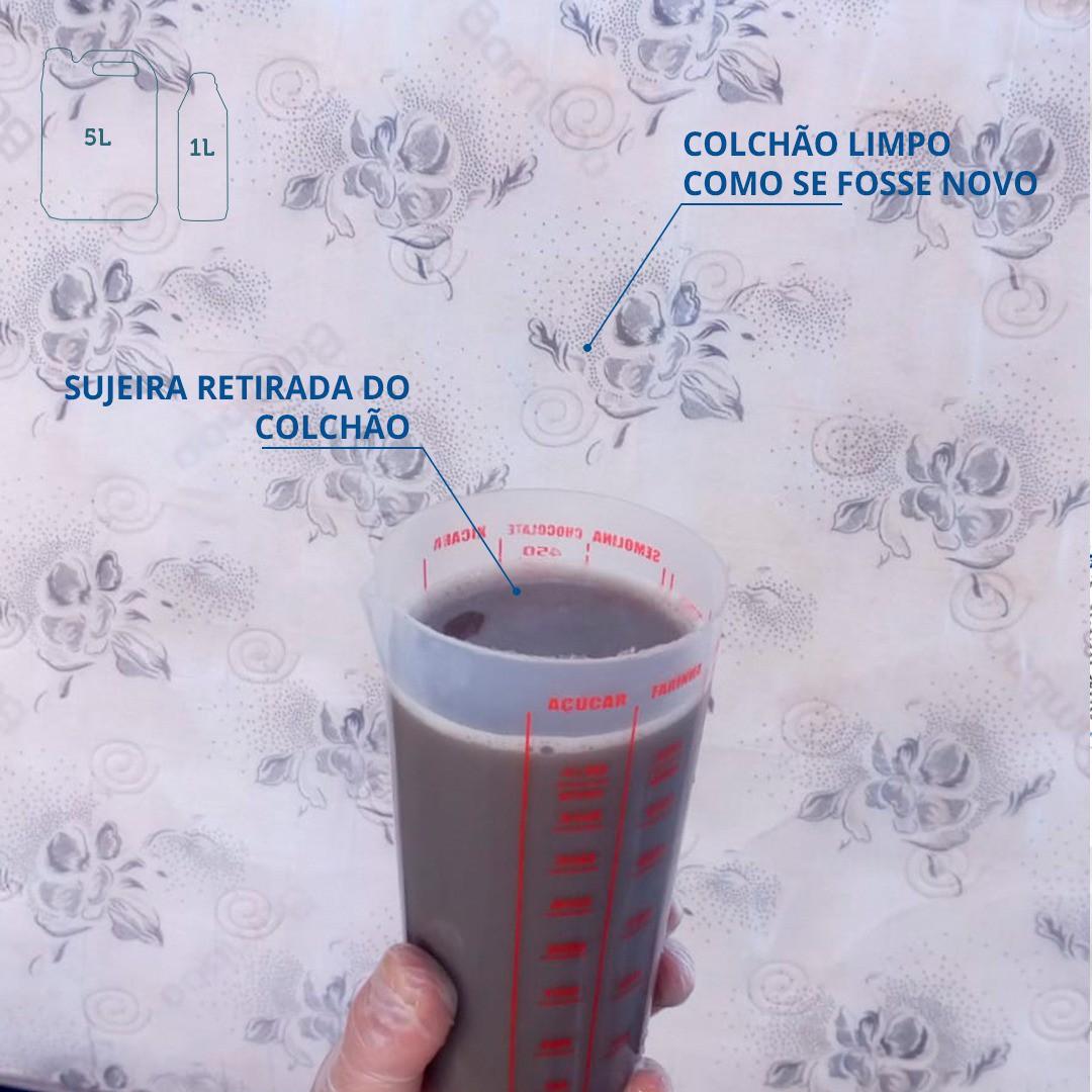 LIMPA CARPETE , TAPETES E TECIDOS - 5 Litros - Perol