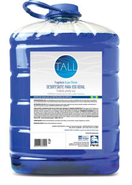 TALL DESINFETANTE PARA USO GERAL - 5 Litros - Perol