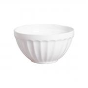 Bowl Grande Branco com Relevo