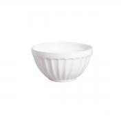Bowl Pequeno Branco com Relevo