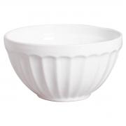 Bowl Saladeira Grande Branco com Relevo