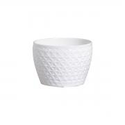 Cachepot em Cerâmica Branco Taboa