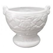 Cachepot Taça I I Clássica Branco