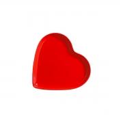 'Travessa Petisqueira Coração Vermelho Médio