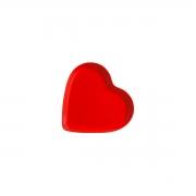 'Travessa Petisqueira Coração Vermelho Pequeno