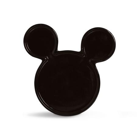 Travessa Decorativa Mickey Preta P